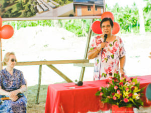 Base Bahay Foundation turnover Sorsogon City Mayor, Sally Lee